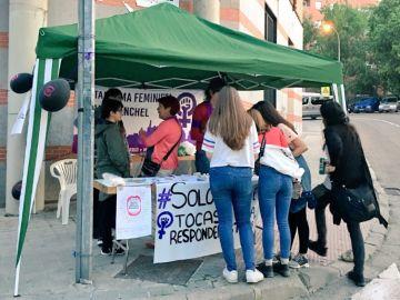 Plataforma feminista de Carabanchel en San Isidro