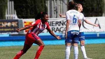 Ludmila, jugadora del Atlético de Madrid