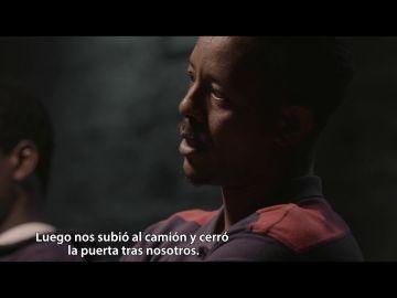 Un migrante habla en Salvados