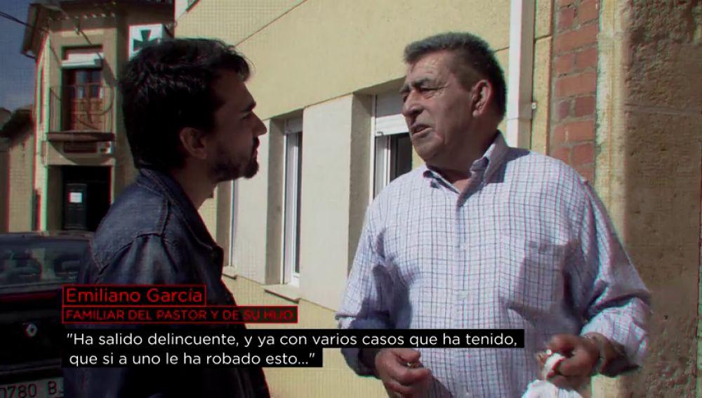 Emiliano García, familiar del menor que confesó el asesinato de Castrogonzalo
