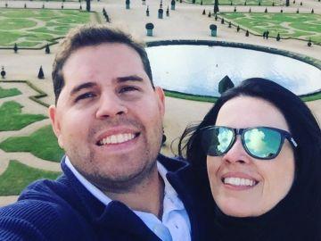 Luana Regina Alves, de 36 años, y Rodrigo Nogueira, de 31