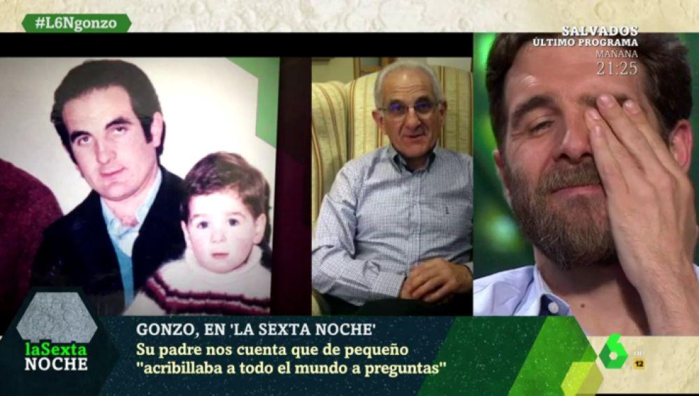 El mensaje del padre de Gonzo a su hijo