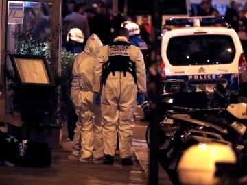 Imagen del ataque en París