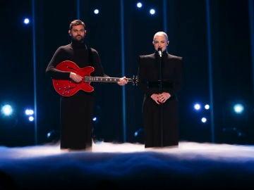 Los representantes de Francia cantan 'Mercy'