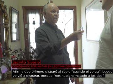 Jacinto Siverio, condenado por matar en legítima defensa