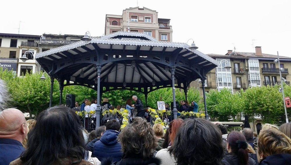 Acto homenaje a Nagore Laffage