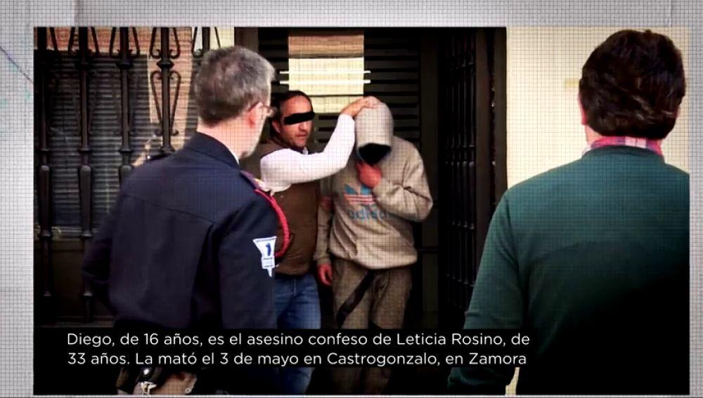 El único detenido por el asesinato de Leticia Rosino