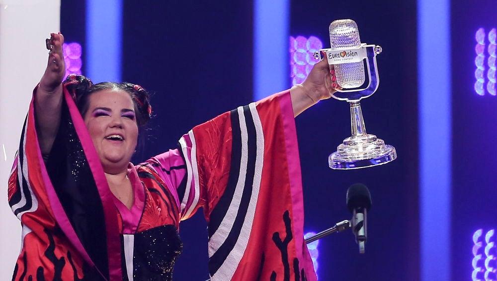 Israel gana Eurovisión con su tema 'Toy' de Netta