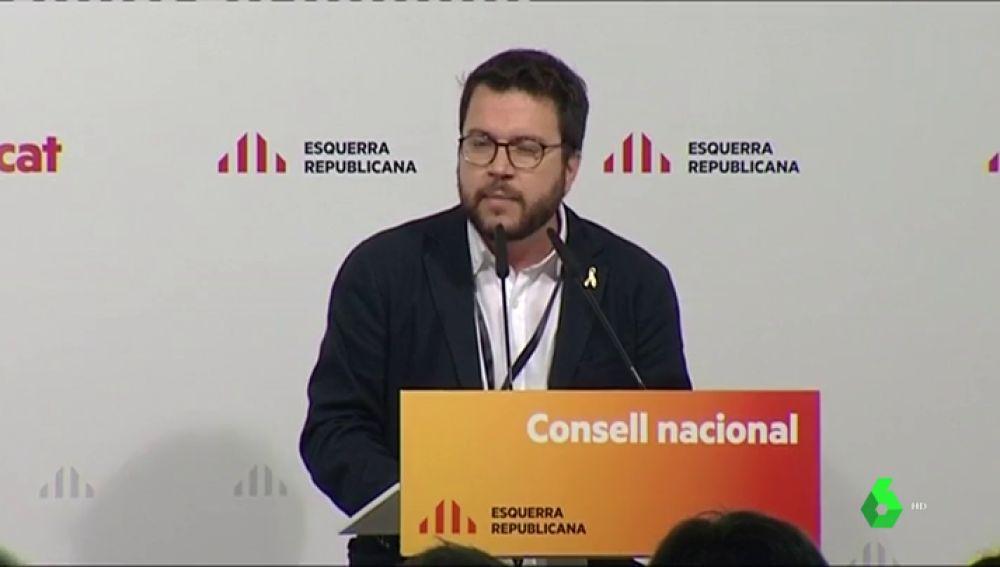 """ERC da por hecho que la CUP hará presidente a Quim Torra: """"El pleno tiene que acabar con su investidura"""""""