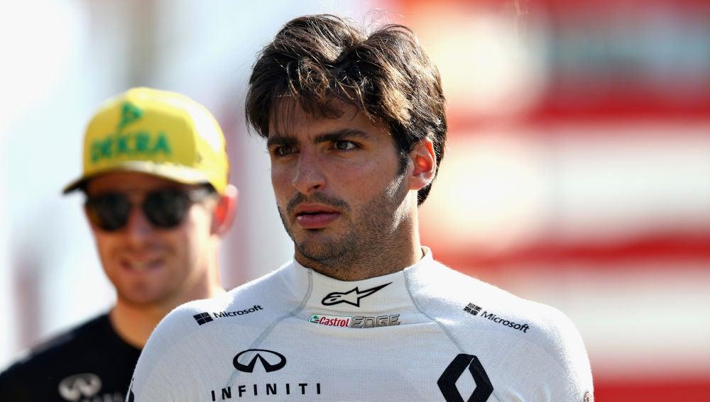 El piloto español Carlos Sainz