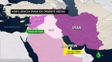 La influencia geopolítica de Irán