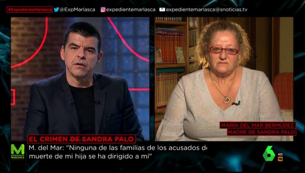 La madre de Sandra Palo