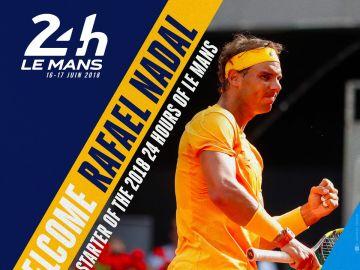 Rafa Nadal, encargado de dar la salida en Le Mans