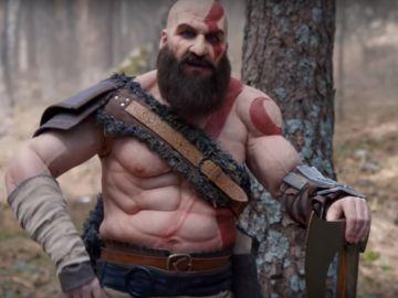 Joaquín Reyes da vida a Kratos, el protagonista de God of War