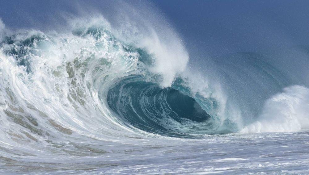 Una ola en el Pacífico