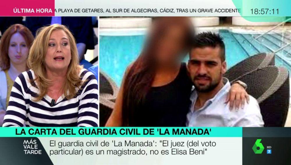 Elisa Beni en Más Vale Tarde