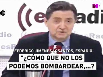 "Las polémicas palabras de Jiménez Losantos sobre Cataluña: ""Por supuesto que os podemos bombardear"""