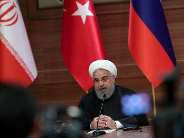 El presidente iraní, Hasán Rohaní (Archivo)