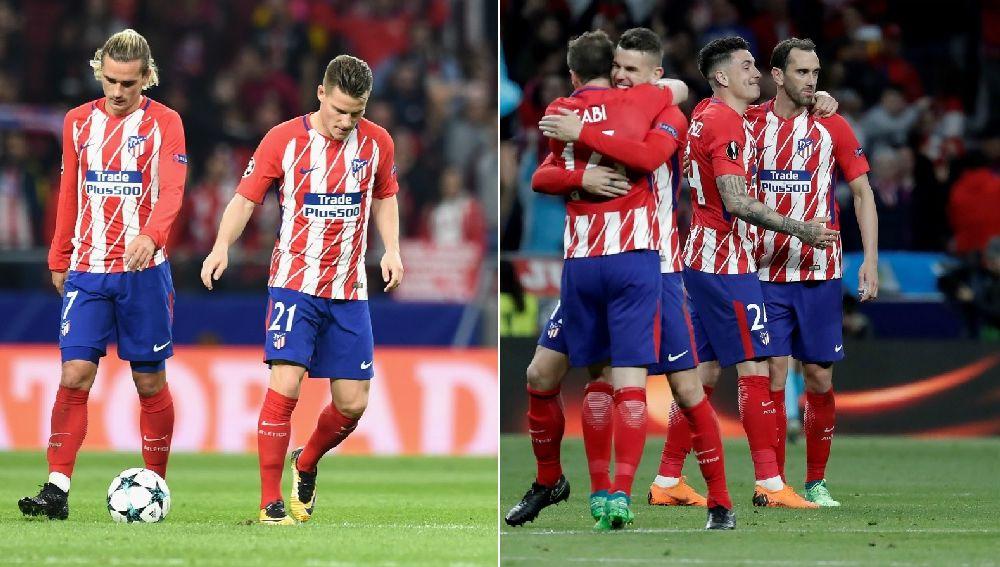 Contraste rojiblanco: decepción ante el Qarabag y euforia frente al Arsenal