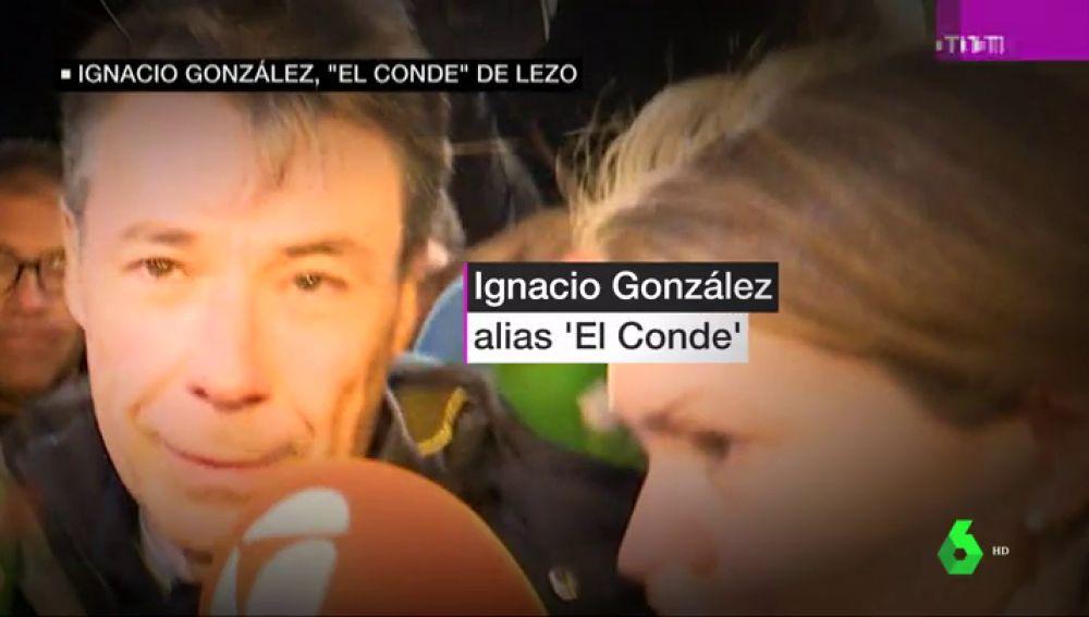 'El Conde', 'Triple A' o ' Maradona': los motes de Ignacio González y los acusados de 'Lezo' implicados en la compra de Emissao