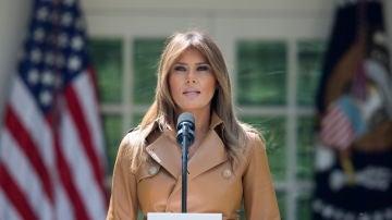 La primera dama de Estados Unidos, Melania Trump.