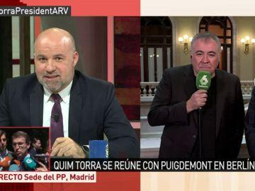 El portavoz de Juezas y Jueces por la Democracia, Ignacio González Vega