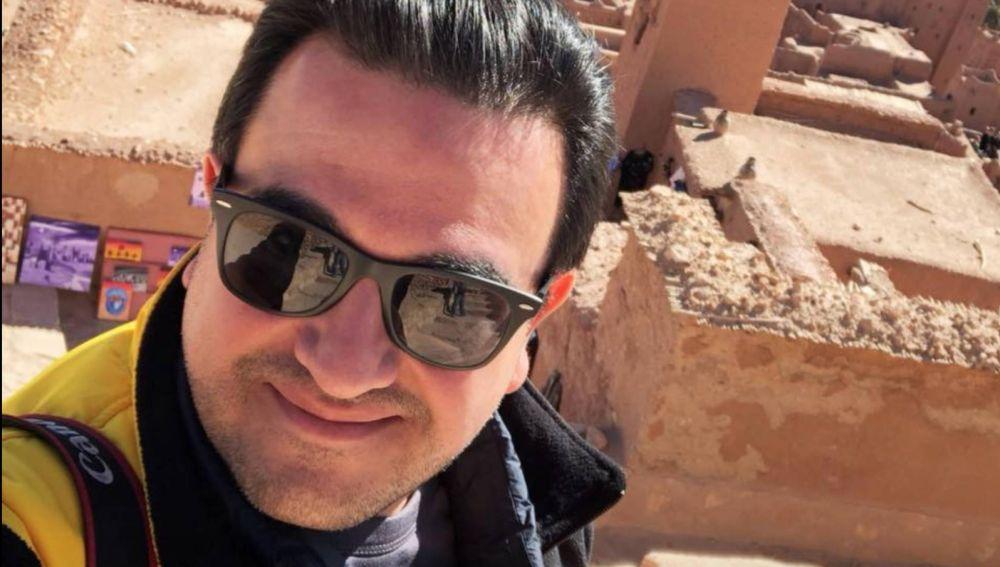 El periodista Juan Carlos Huerta