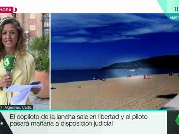 En libertad el copiloto de la lancha que arrolló al menor en Algeciras: el piloto pasará mañana a disposición judicial
