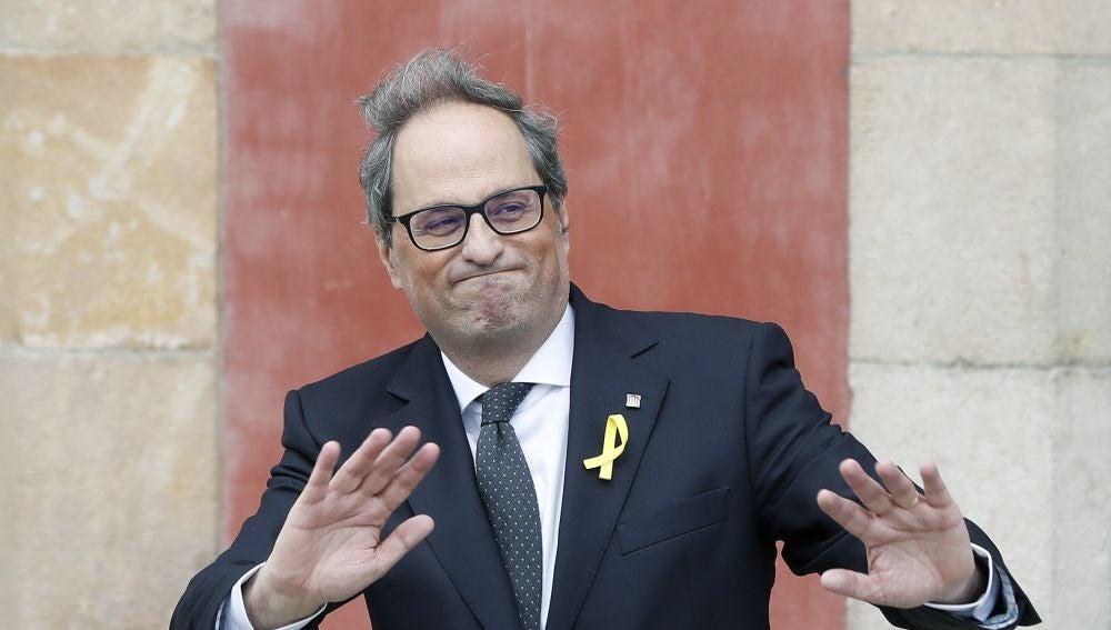El nuevo presidente de la Generalitat, Quim Torra