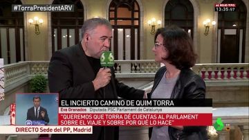 La diputada del PSC en el Parlament, Eva Granados