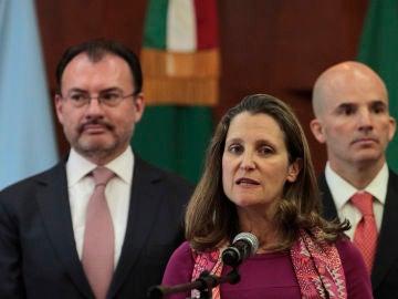Chrystia Freeland, ministra de Asuntos Exteriores de Canadá