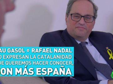"""Quim Torra: """"Pau Gasol o Rafa Nadal no reprensentan la catalanidad, son más España"""""""