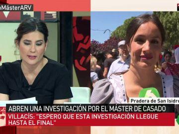 Begoña Villacís, portavoz de Ciudadanos en el Ayuntamiento de Madrid