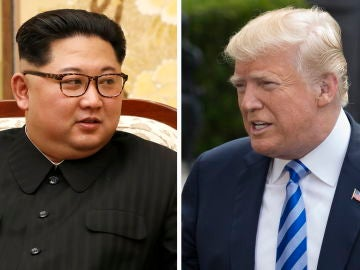 Imagen de Kim Jong-un y Donald Trump