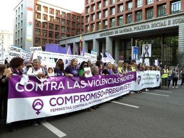 Imagen de archivo: protesta contra la violencia machista.
