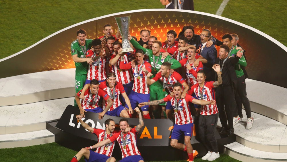 El Atlético de Madrid, campeón de la Europa League 2017/2018