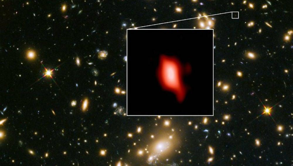 Formacion de estrellas tan solo 250 millones de anos despues del Big Bang