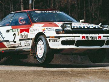 Carlos Sainz en el Rally Portugal 1991