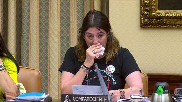 Carmen Cortés, portavoz de la plataforma de las víctimas del aceite tóxico de colza