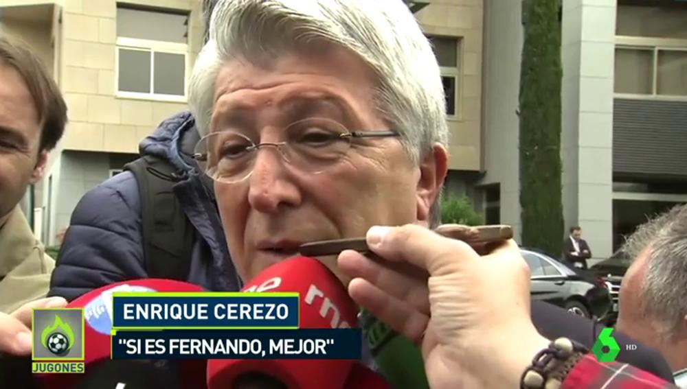 """Enrique Cerezo: """"Griezmann es jugador del Atlético y no queremos negociar"""""""