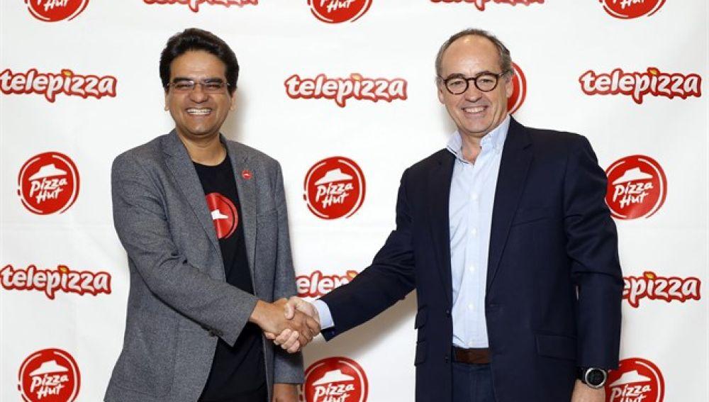 Alianza estratégica de Telepizza y Pizza Hut