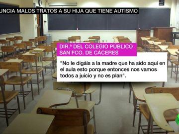 Unos audios demuestran el maltrato a la niña con autismo en Cáceres