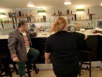 Alberto Chicote y Estefanía, en Pesadilla en la cocina: Generación del 27