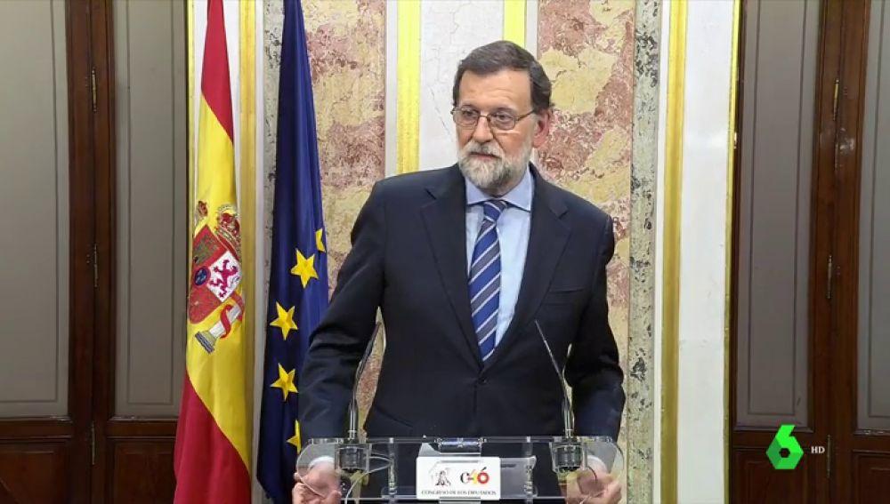 """Rajoy celebra la aprobación de los Presupuestos: """"Se ha apostado por construir y no por destruir"""""""