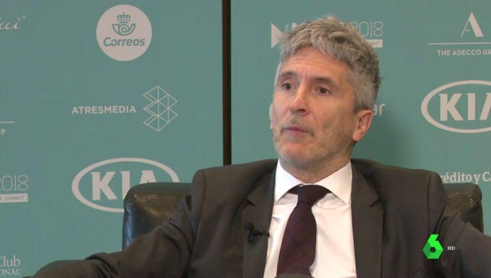 El juez Grande Marlaska defiende la actuación de la justicia española en el caso de Cataluña
