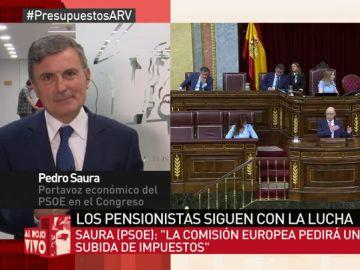 Pedro Saura, en Al Rojo Vivo