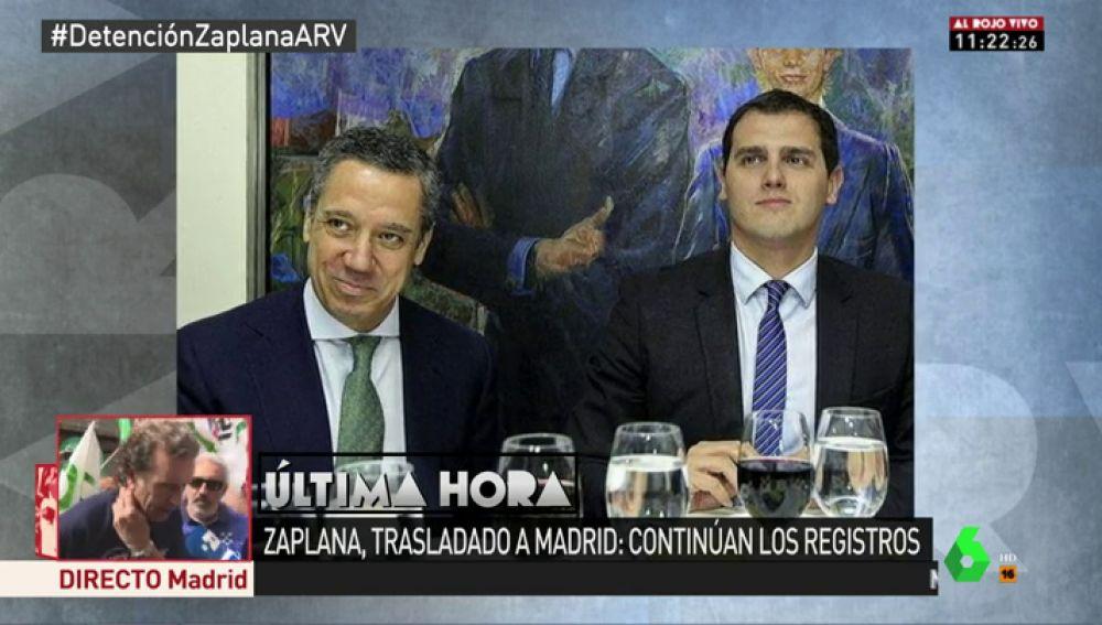 Zaplana y Albert Rivera