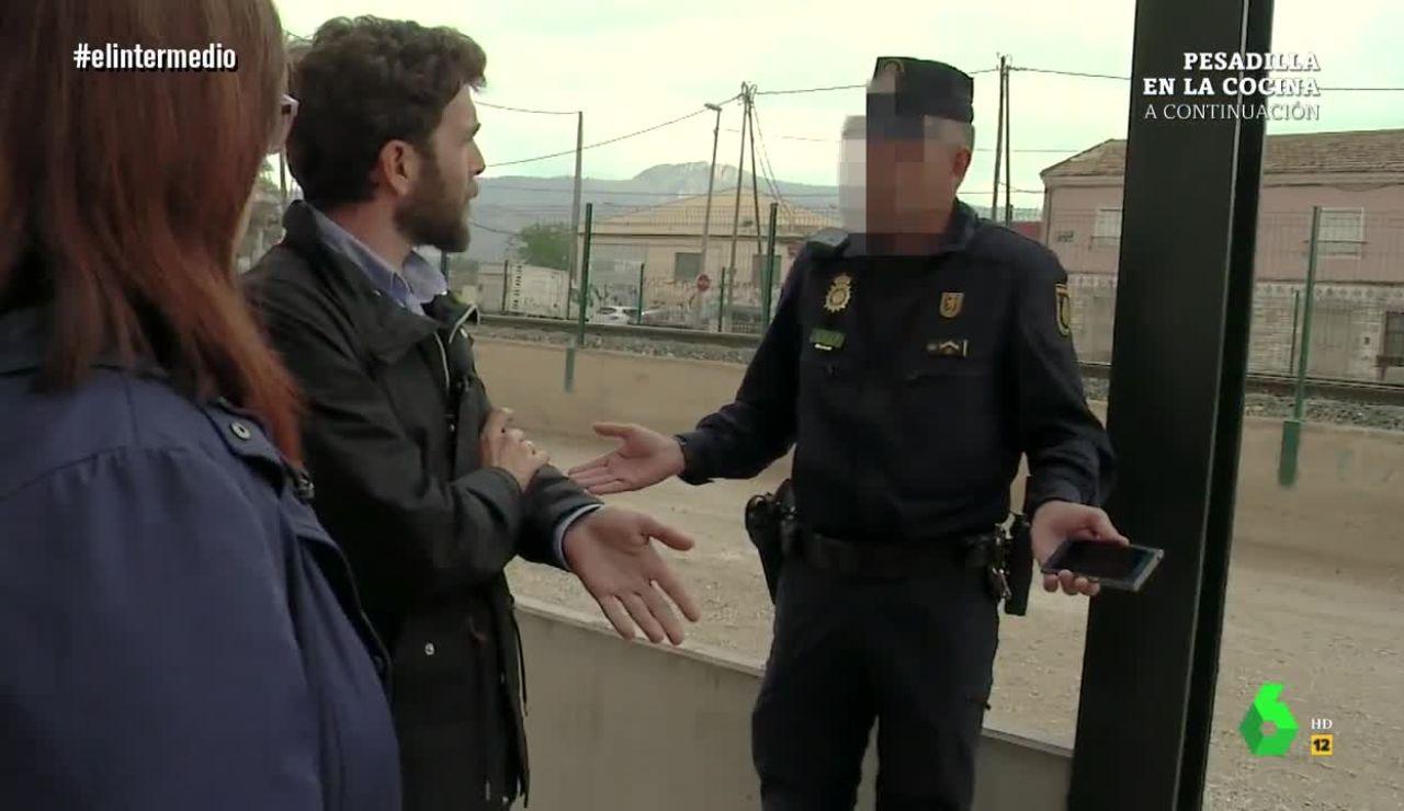 Gonzo, interrumpido por la Policía en Murcia