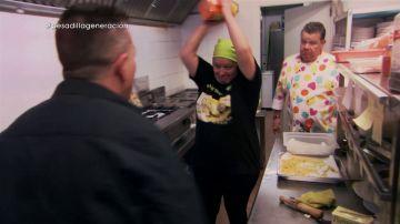 Estefanía y Alberto Chicote, en Pesadilla en la cocina: Generación del 27
