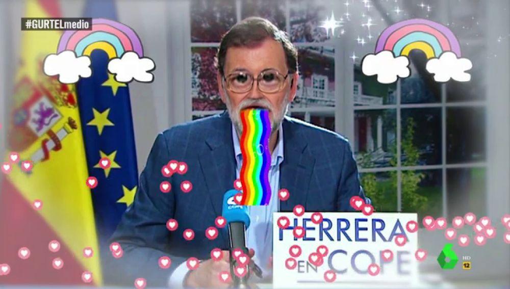 """'Vomitando arcoíris', así está Mariano Rajoy tras la sentencia de la Gürtel al PP: """"Será que está pensando en su puerta giratoria"""""""